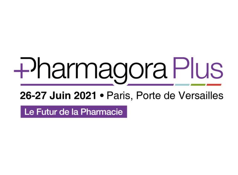 Affiche Pharmagora Plus, salon à Porte de Versailles les 26 et 27 Juin